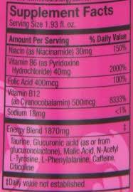 5 hour energy drink pink lemonade flavor 1 93 oz 12 ct b