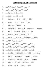 math skills worksheets balancing chemical equations 199698 myscres