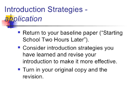 persuasive essay introductions ospi  11 introduction strategies