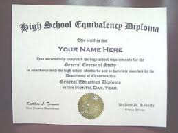 Details About High School Diploma Ged Fake Looks Like The Real Deal