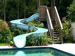 fiberglass pool slide fiberglass pool slide summit swimming slides for in ground residential and commercial pools