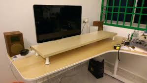 137 ikea hackers desk ideas trendy desk shelf monitor stand desk shelf monitor stand full