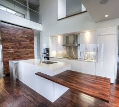 Topic For White Kitchen Cabinets With Natural Wood Countertops