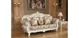 couch with wood trim antique white fabric sofa sets couch with wood
