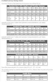 65 Punctual Nfl Jersey Measurements