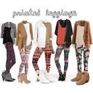 Tribal print leggings outfit photo