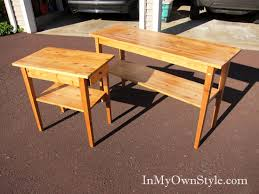oak wood for furniture. furniture before staining with classic black satin minwax polyshades stain oak wood for