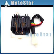 online get cheap wiring voltage regulator aliexpress com 5 wire pins voltage regulator rectifier for gy6 50cc 70cc 90cc 110cc 125cc 150cc engine atv