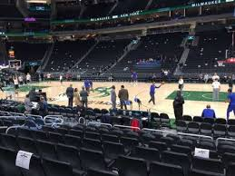 Fiserv Forum Seating Chart View Fiserv Forum Section 116 Row 7 Seat 8 Home Of Milwaukee
