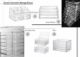 acrylicstorage 1 john lewis o 3 drawer acrylic organiser