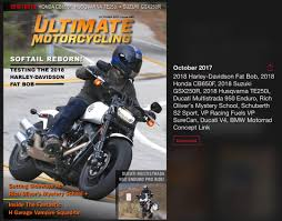 2018 suzuki cruiser.  2018 ultimate motorcycling october 2017 inside 2018 suzuki cruiser