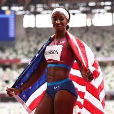 Team USA's Keni Harrison Won Silver ...
