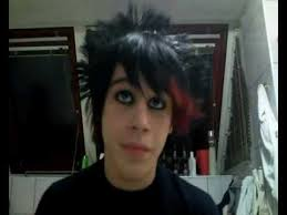 beedy tutorial to emo scene hair making and makeup for boys guys