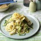 artichoke  lemon   parmesan pasta
