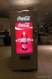 Coca Cola Vending Machine Singapore Gorgeous Vending Machine That Gives Out A Coke For A Hug