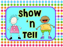 Image result for show and tell clipart