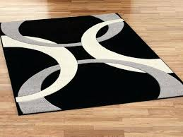 black and white area rug 8x10 contemporary black and white area rug black and white chevron