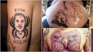 Katastrofa Zarytá Pod Kůží 11 šílených Tetování S Nimiž Někdo Musí