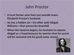the crucible character essay john proctor a character is an elaborate blend of emotions and characteristics even though the characters emotions are significant because they make an individual feel