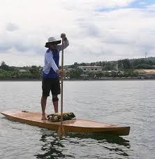 plywood stand up paddleboard plan taal touring sup has a bow profile to minimise the