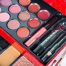 shany all in one makeup kit eyeshadow blushes powder lipstick holiday gift