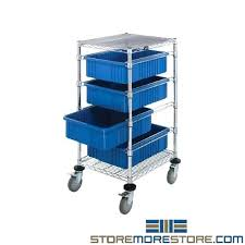 plastic container shelves