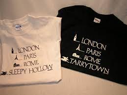 tarrytown or sleepy hollow shirts