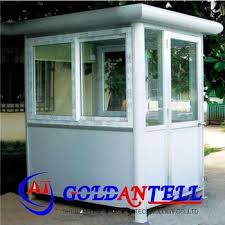 small portable office. New Style Light Small Steel Prefab Guard Booth Portable Mobile Sentry Box For Security Office