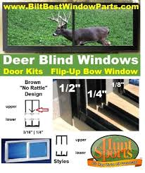 Build Your Own Post Season Deer Hunting Blind And Stand Quiet Hunting Blind Window Kits