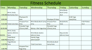 fitness timetable template fitness timetable template awesome fitness schedule template 7 free