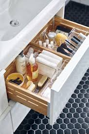 A place for everything and everything in its place. Organize your bathroom  and makeup essentials