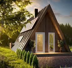 A Shaped House Design A Frame Kit Homes Avrame