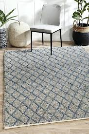 felted wool rug light grey natural diy