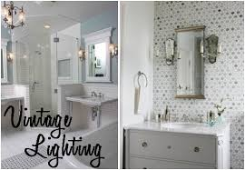 vintage style bathroom lighting. Vintage Bathroom Lighting For Style H