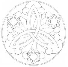 Coloring the Mandalas actually helps balances the hemispheres in ...