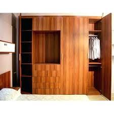 wood clothes closet storage