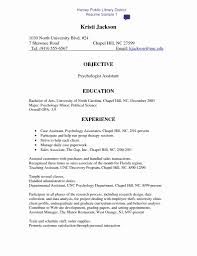 44 Elegant Images Of Sample Resume for Restaurant Jobs