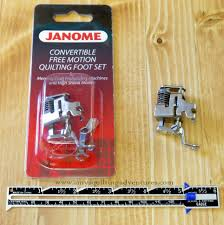 Janome Convertible Free Motion Quilting Foot Set (High Shank ... & Janome Convertible Free Motion Quilting Foot Set (High Shank) Adamdwight.com