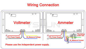 ac amp meter wiring diagram ac image wiring diagram four wires current monitor meter ac 0 300a blue lcd digital on ac amp meter wiring