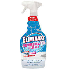 Clean-X 25 oz. Eliminate Shower Tub and Tile Cleaner-7999-7 - The ...