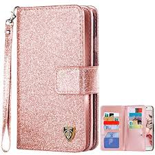 Galaxy Note 5 Case, BENTOBEN Glitter Sparkle Bling Flip PU Leather Wristlet Phone Cases for 5: Amazon.com