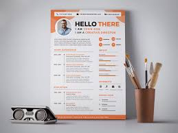 Free Professional Resume Cv Design Template Psd Good Resume
