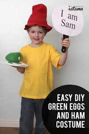 easy diy green eggs and ham costume for dr suess day