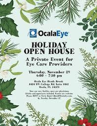 Holiday Open House Invitation Ocala Eye 2018 Ocala Eye