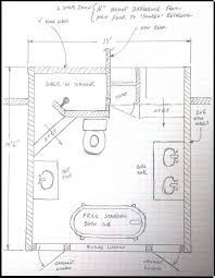 Elegant Interior And Furniture Layouts Pictures  Basement Small Narrow Bathroom Floor Plans