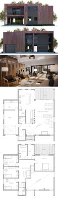 Best House Plans Contemporary Modern Houses Images On Pinterest - Modern house plan interior design