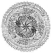 Small Picture 11 best Very Difficult Mandala coloring pages images on Pinterest