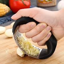 1Pcs <b>Stainless Garlic Press Household</b> Manual Garlic Press Device ...