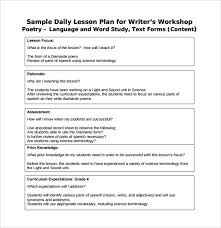 Sample Daily Lesson Plan 8 Documents In Pdf Word