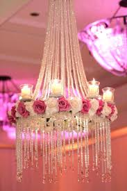 fuschia chandelier fl chandeliers are the hottest wedding trend at moment will you be having one